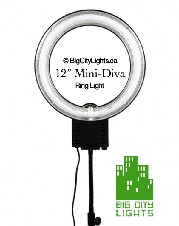 12 inch mini diva ring light