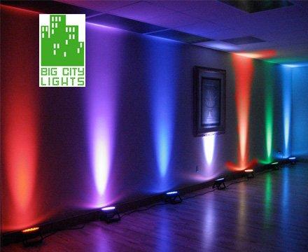 Medium Led Par Spot Lights Big City Lights