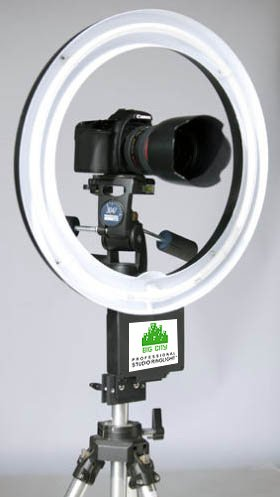 tripod adapter with 18″, Ring Light from Big City lights
