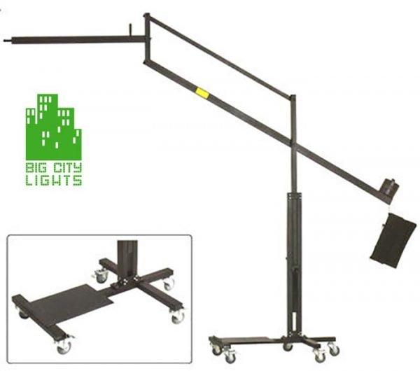 overhead boom light stand wheels Canada studio