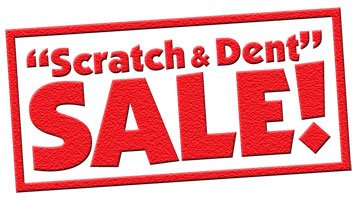 Scratch and Dent Sale