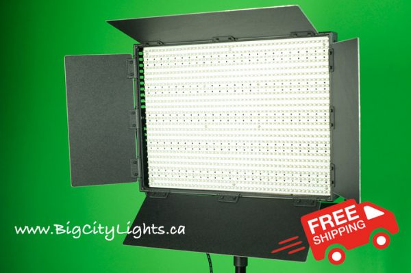 LED LEDGO light panel Canada film video photo
