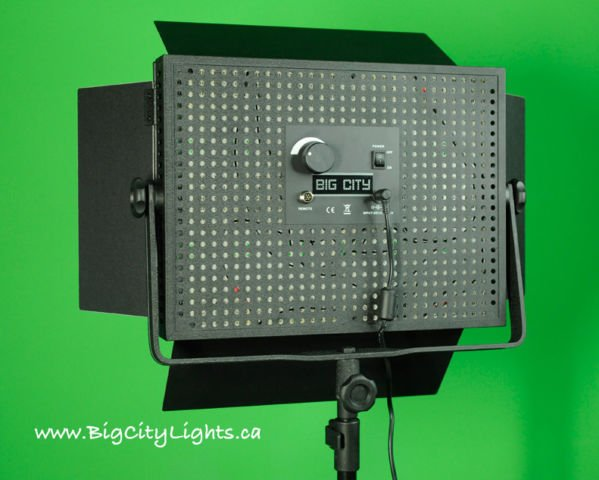 LED panel light - rear