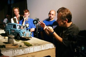 stop motion, behind the scenes