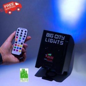 battery wireless LED PAR light Canada 70w high power