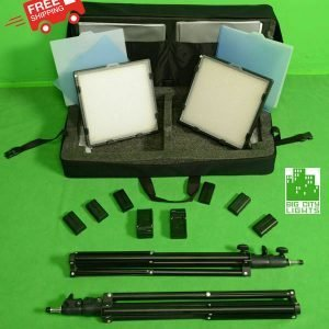 LED light panel travel kit Sony NP battery operated Canada