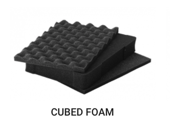 Foam for Black Hard Case for photo and video