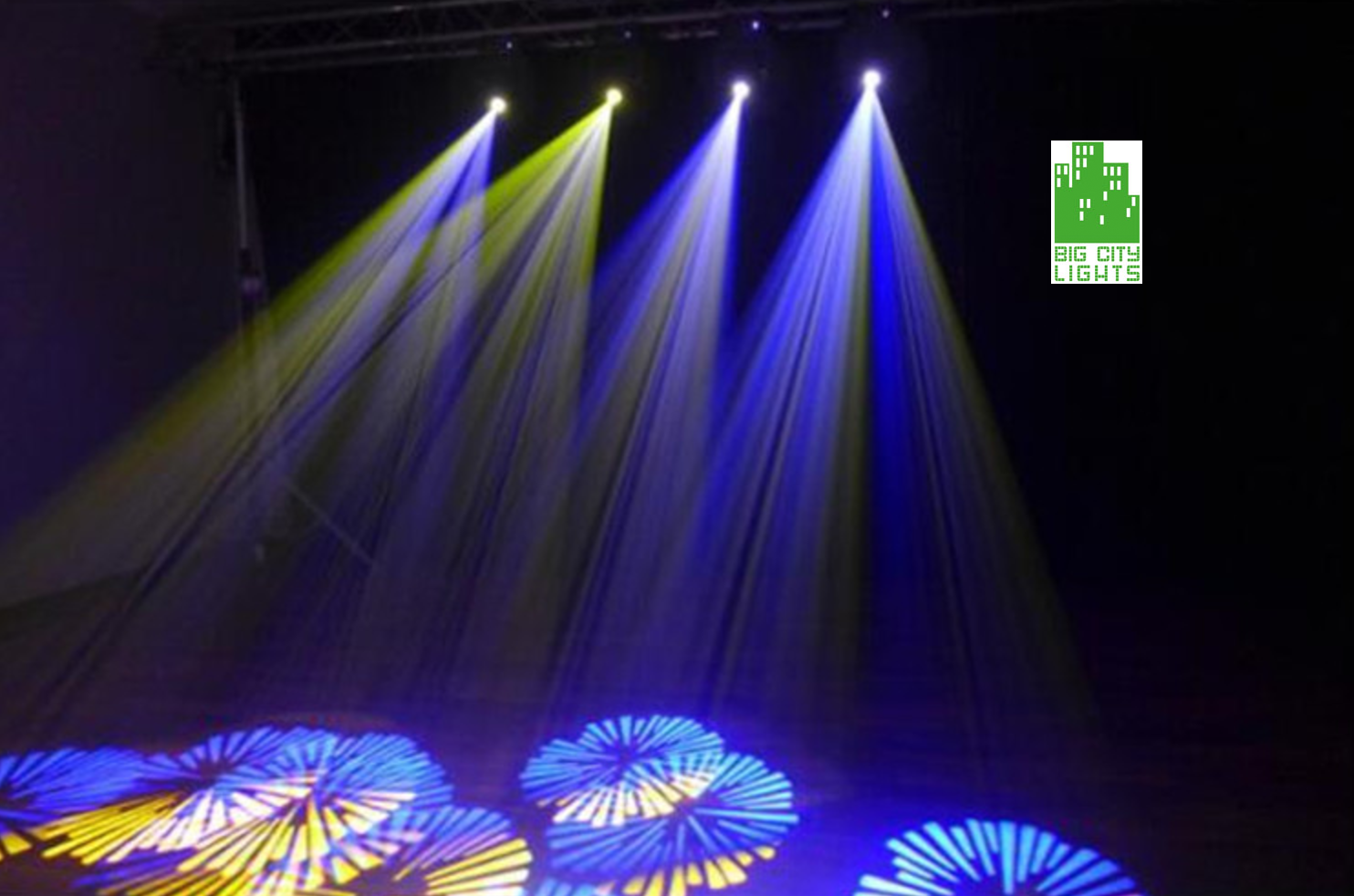 90w Led Rotating Head With 7 Gobos
