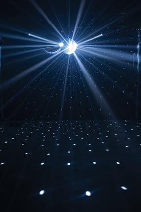 American Dj Led Pinspot Ii Bright White Big City Lights