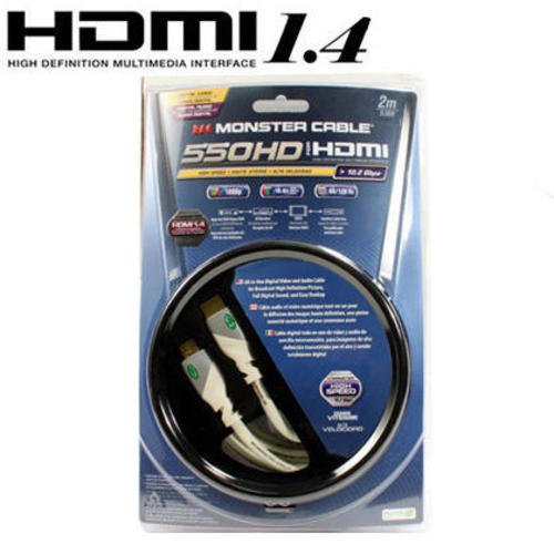 monster 550 hdmi cable detail
