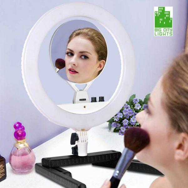 Mini diva ring light ringlight Canada LED makeup make up light