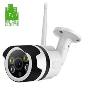 Outdoor Wireless Security Camera – Model 1 – Big City Lights