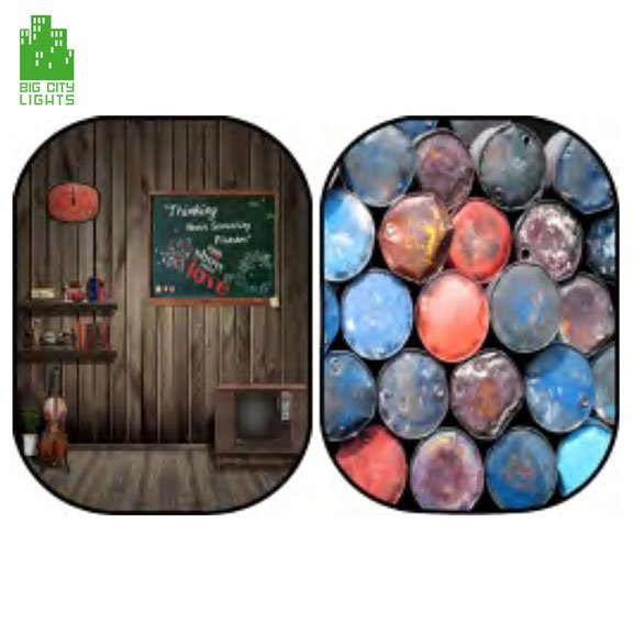 collapsable background stones kitch basement studio photography Canada Toronto photo foldable