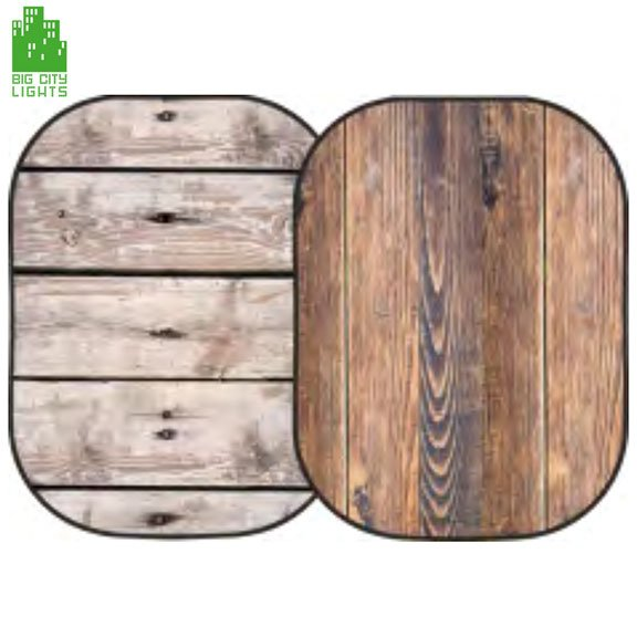 collapsable background wood panel photo foldable