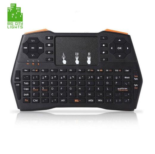 i8 plus backlit mini wireless keyboard english Canada