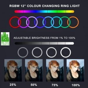 rgbw ring light Toronto Canada puluz