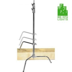 Big City C stand with sliding leg kit chrome plated