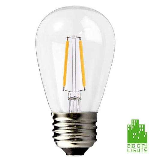 LED Edison Replacement Bulb Lightbulb Canada 2 watt
