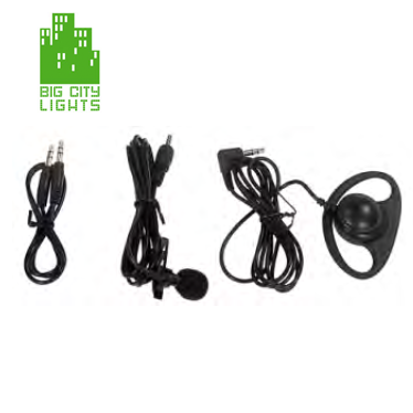 UHF film microphone kit wireless lav Canada Toronto