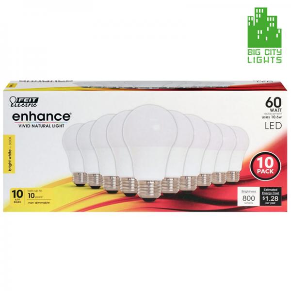 feit electric LED light bulb Canada Toronto Scarborough 10 pack lightbulb