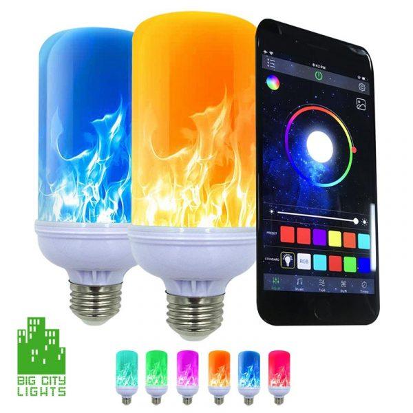 LED Flame smartbulb Light Bulb Canada