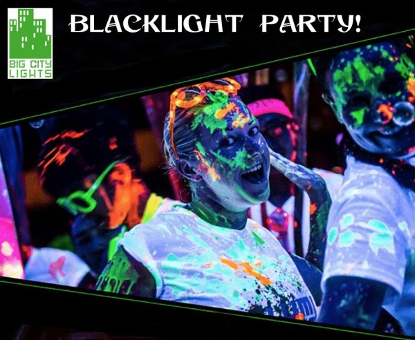 glow in-the dark paint Scarborough Ajax body face makeup blacklight ultraviolet UV