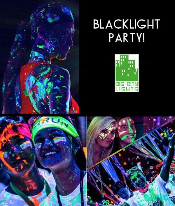 glow in-the dark paint Toronto Canada body face makeup blacklight ultraviolet UV