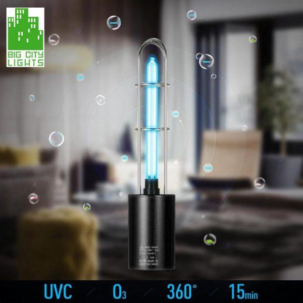 UVC lamp usb sterilization ozone disinfection canada 1