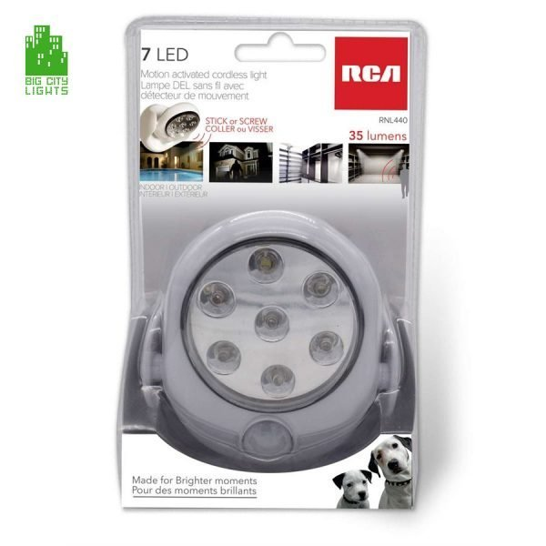 RCA RNL440 7 LED battery operated light Canada Toronto