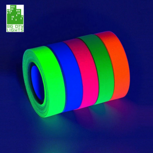 Glow dark gaffer tape UV Blacklight Canada